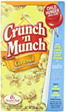 Crunch N Munch Caramel Popcorn with Peanuts 35 Ounce Pack of 12