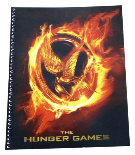 The Hunger Games Movie - Notebook Lenticular Cover spiral notebook