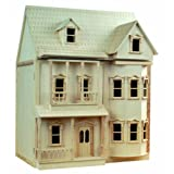 VICTORIAN 1/12 ASHBURTON DOLLS HOUSE/READY TO USE/BRAND NEWby LIME SHOP