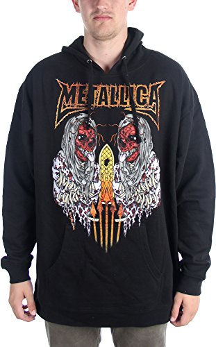 metallica-sanitarium-sweat-a-capuche-pour-hommes-xx-large-black
