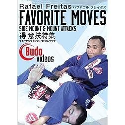 Rafael Freitas Favorite Moves: Side Mount & Mount Attacks