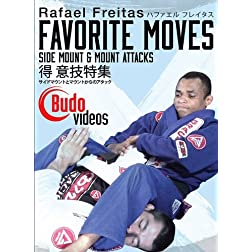 Rafael Freitas Favorite Moves: Side Mount & Mount Attacks