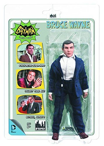 Batman Classic 1966 TV Series 2 Bruce Wayne 8-Inch Action Figure by Figures Toy Company