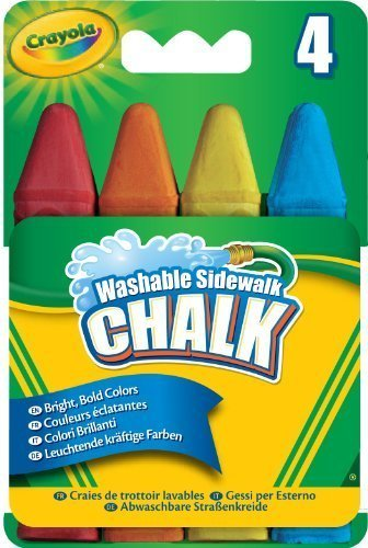 Crayola Build Your Box Pool Party Chalk (4 Count) by Binney & Smith by Crayola