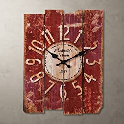 Porch-O 15 Country Style Vintage Wall Clock