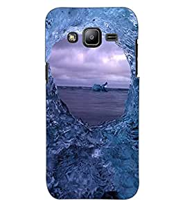 ColourCraft Amazing Water Effect Design Back Case Cover for SAMSUNG GALAXY J2 DUOS