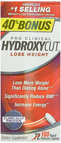 Hydroxycut Pro Clinical 72ct Weight Loss Pills