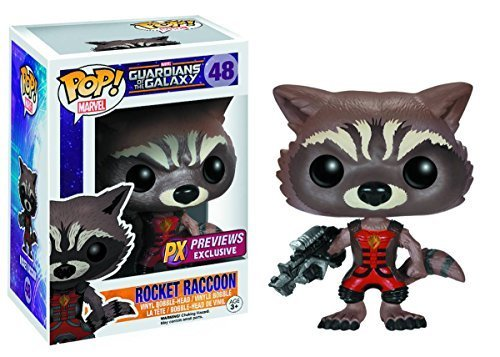 PX Exclusive Guardians of the Galaxy Rocket Raccoon Ravagers Pop! Vinyl Bobble Figure - 1
