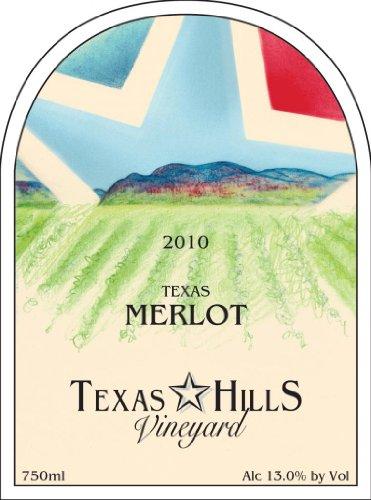 2010 Texas Hills Vineyard Merlot 750 Ml