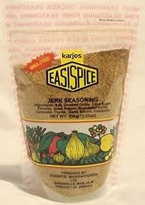 Karjos Easispice Jerk Seasoning -350g/12oz