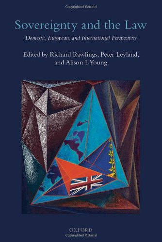 Sovereignty and the Law: Domestic, European and International Perspectives