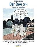 Der Stier 2014: Sternzeichen-Cartoonkalender