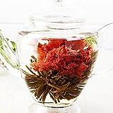 TEATSIGHT(ティートサイト) 工芸茶 ギフトパック 5種類 詰め合わせ お湯を注ぐとカーネーションやジャスミンなどの花が咲くお茶