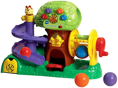VTech Count and Roll Tree Toy