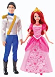 Disney Princess Y0939 The Little Mermaid - Ariel and Eric Doll Pack