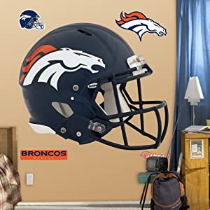 NFL Denver Broncos Helmet Wall Graphics by Fathead