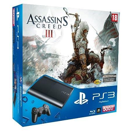 PlayStation 3 - Consola 500 GB + Assassins Creed 3