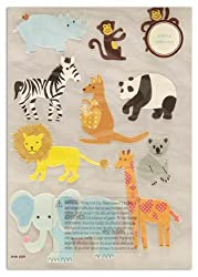 Martha Stewart Crafts Stickers Zoo Animals By The Package