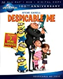 Despicable Me [Blu-ray + DVD + Digital Copy] (Universals 100th Anniversary)