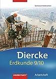 Diercke Erdkunde - Ausgabe 2008 für Gymnasien in Niedersachsen: Arbeitsheft 9 / 10