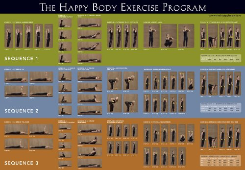 The Happy Body Exercise Program Poster, by Aniela and Jerzy Gregorek