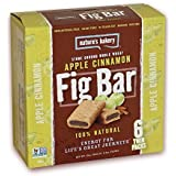 Nature's Bakery Stone Ground Whole Wheat Fig Bars: Apple Cinnamon (Pack Of 4) 6 Twin Packs Per Box