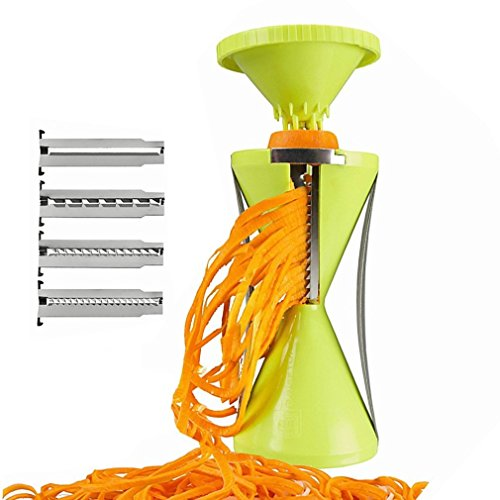 Spiral vegetable slicing and shredding machine (Super Spiral Play Tower compare prices)