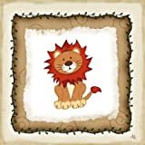 Safari Lion by Pugh, Jennifer - fine Art Print on PAPER : 20 x 20 Inches