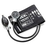 ADC Dianostix 700 Pocket Aneroid Sphygmomanometer with Adcuff Nylon Blood Pressure Cuff, Adult, Black