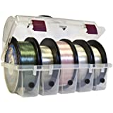 Plano Line Spool Box (Clear, Large)