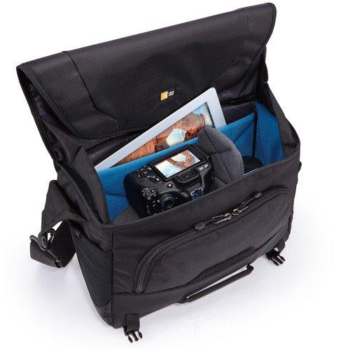 Case logic 大型デジタル一眼レフ・カメラ+iPad メッセンジャーバッグ Luminosityシリーズ 10.5L ブラック DSM-103 BLACK