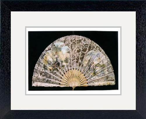 print-of-fan-by-duvelleroy-1901artist-jean-malvaux-in-black-frame