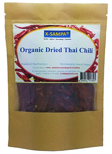 Your Kitchen Organic Dried Thai Chili From My Farm (3.5 Ounce) (Chili Pepper Organic compare prices)