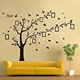 Dagou , 6ft X 9ft, Large Memory Tree Photo Tree Wall Vinly Decal Decor Sticker Removable Wall Decal