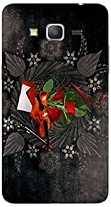 Timpax protective Armor Hard Bumper Back Case Cover. Multicolor printed on 3 Dimensional case with latest & finest graphic design art. Compatible with Samsung Galaxy Grand 2 / G7102 / G7105 Design No : TDZ-26647