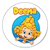 Bubble Guppies: Deema Stickers - Sheet of 6