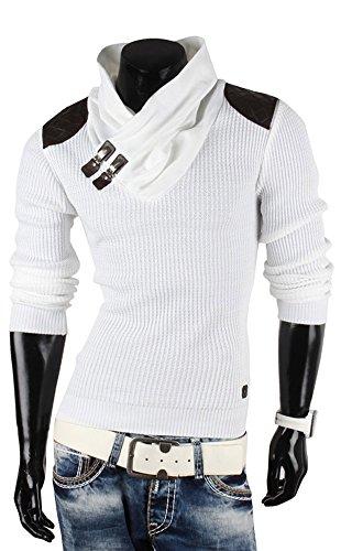 Redbridge Herren Strickpullover V-Neck Sweatshirt Jacke Größe M