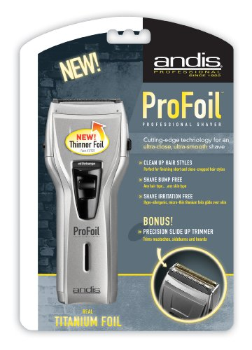 how to use andis profoil shaver