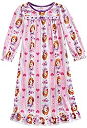 Disney Toddler Girls Sofia the First Pink Hearts Nightgown