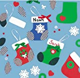 Christmas Stocking Ornament Craft Kit x 3
