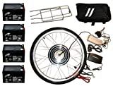 Electric Bike Kit 48V 1000W Rear 26 Inch Wheel Hub Motor DIY Conversion Including Batteries