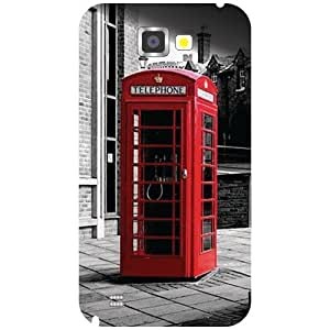 Printland Designer Back Cover for Samsung Galaxy Note 2 N7100 Case Cover