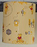 Winnie the Pooh/Pooh Bear Lamp Shade - Children's Baby - 10 inch - UK Made