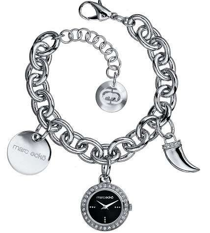 Marc Ecko Multi Link Charm Bracelet Ladies Watch – E95052L1