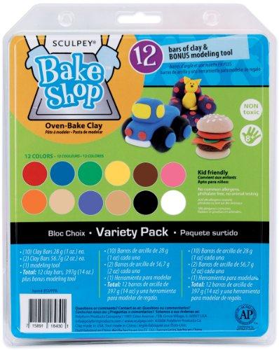 Sculpey� Bake Shop Variety Pack - 12PK