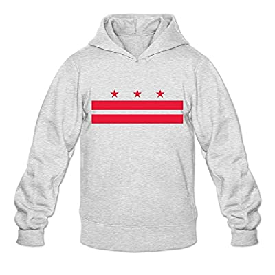 Flag Of Washington, D.C. Religion 100% Cotton Long Sleeve Sweatshirt For Adult