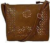Minar Women's Sling & Cross-Body Bags (Brown)
