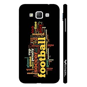 Samsung Galaxy Grand 3 FOOTBALL designer mobile hard shell case by Enthopia