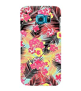 Amazing Floral Painting 3D Hard Polycarbonate Designer Back Case Cover for Samsung Galaxy S6 :: Samsung Galaxy S6 G920