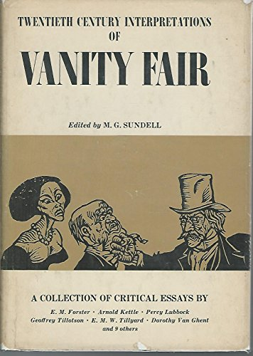 Vanity Fair: A Collection of Critical Essays (20th Century Interpretations)